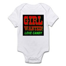 Girl Wanted Love Candy Infant Creeper