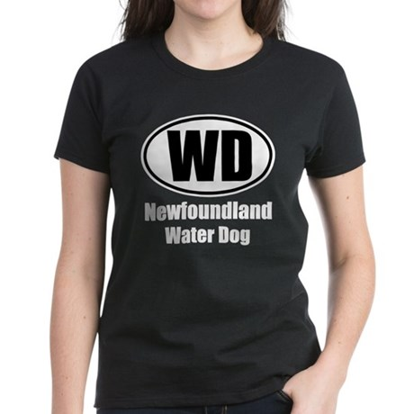 Water Dog Women's Dark T-Shirt