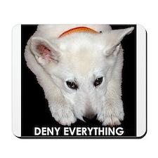 Deny Everything Mousepad