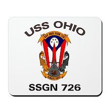 USS Ohio SSGN 726 Mousepad