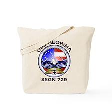 USS Georgia SSGN 729 Tote Bag