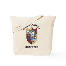 USS Florida SSGN 728 Tote Bag