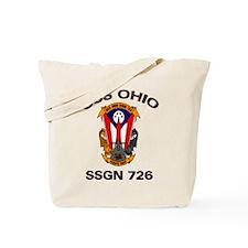 USS Ohio SSGN 726 Tote Bag