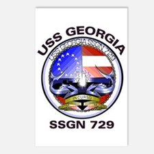 USS Georgia SSGN 729 Postcards (Package of 8)