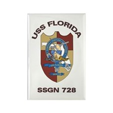 USS Florida SSGN 728 Rectangle Magnet