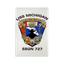 USS Michigan SSGN 727 Rectangle Magnet