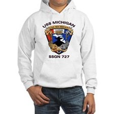 USS Michigan SSGN 727 Hoodie