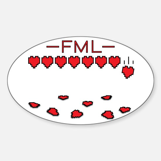 Fml Bumper Stickers CafePress - Custom decal stickersfml design custom decalsstickers funny stickers custom