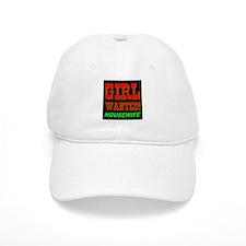 Girl Wanted! Housewife Baseball Cap