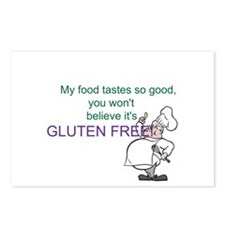Tastes so good gluten-freePostcards (Package of 8)