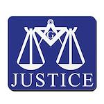 Masonic Justice Mousepad