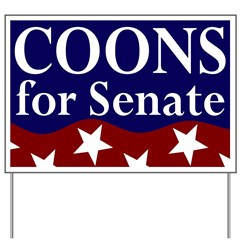 Vote Coons for Senate Yard Sign