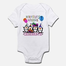 Silly Penguins 1st Infant Bodysuit
