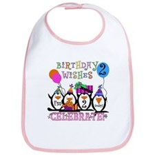 Silly Penguins 2nd Bib
