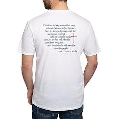 (BACK) St. Teresa of Avila Quote Shirt