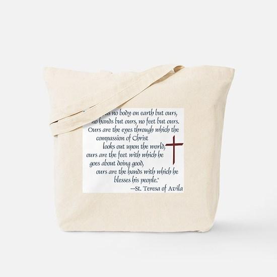 St. Teresa of Avila Quote Tote Bag