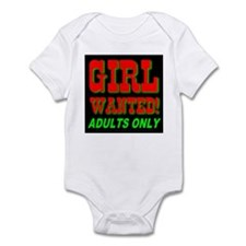Girl Wanted! Adults Only Infant Creeper