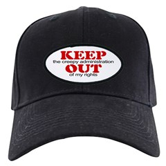 Keep out ... rights Black Cap