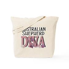 Australian Shepherd DIVA Tote Bag