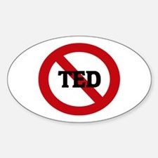 Anti-Ted Oval Stickers