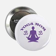 "Yoga Mom 2.25"" Button"