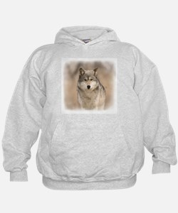 """Bright Eyes"" Wolf Apparel Hoodie"