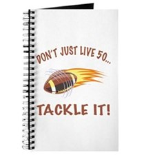 Tackle 50 Football Bday Journal