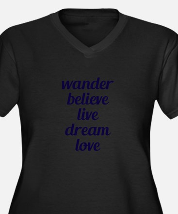 Wander Plus Size T-Shirt
