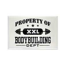 Bodybuilding Rectangle Magnet