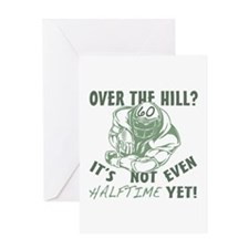 Halftime 60 Football Bday Greeting Card