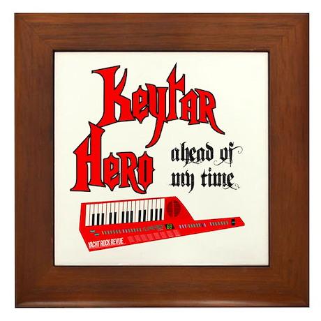 Keytar Hero Framed Tile