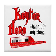 Keytar Hero Tile Coaster