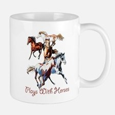 Plays With Horses Mug