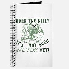 Halftime 40 Football Bday Journal