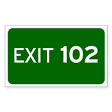 EXIT 102 Decal