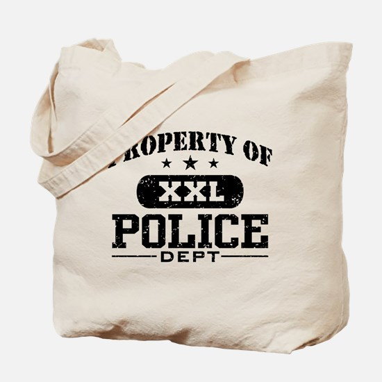 Property of Police Department Tote Bag