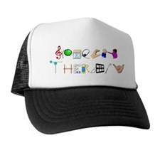 Speech Therapy Trucker Hat