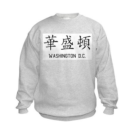 Washington DC Kids Sweatshirt