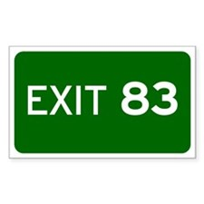 EXIT 83 Decal
