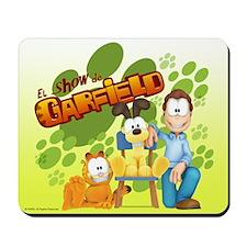 El Show de Garfield Logo Mousepad