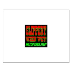 Slippery When Wet Posters