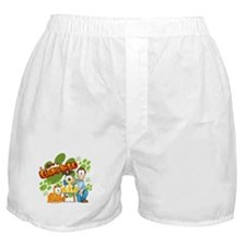 El Show De Garfield Logo Boxer Shorts