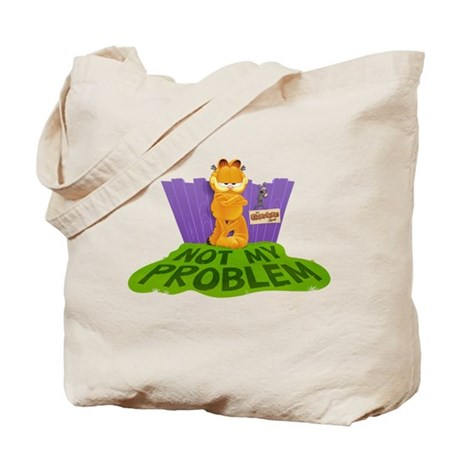 """Garfield """"Not My Problem"""" Tote Bag"""
