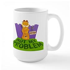 "Garfield ""Not My Problem"" Mug"