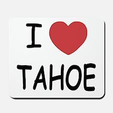 I heart Tahoe Mousepad