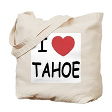 I heart Tahoe Tote Bag