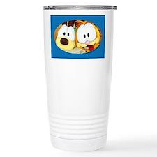 Garfield Goofy Faces Travel Mug