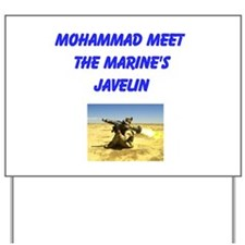 Unique Mohammad Yard Sign