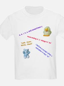Spelling Rules Kids T-Shirt