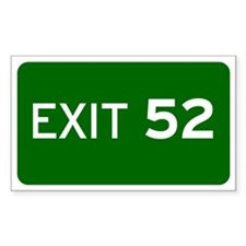 EXIT 52 Decal